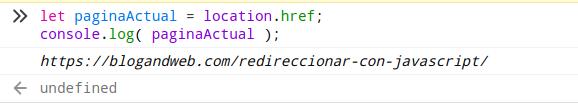 Javascript Location href captura de pantalla