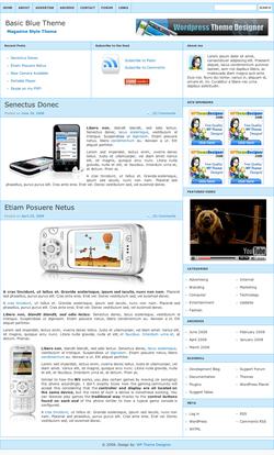 plantilla wordpress basicblue