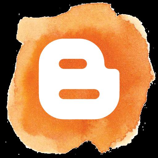 blogger aqua icon