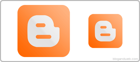 Google Blogger (Blogspot) Icon