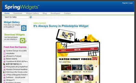Springwidgets, más de 40.000 widgets a tu alcance