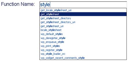 wordpress-funciones