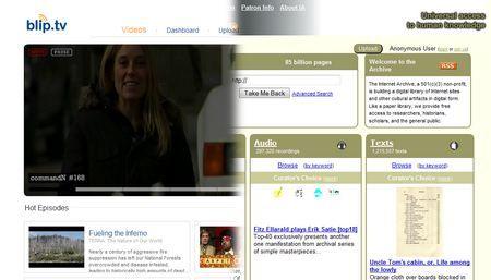 La combinación entre Blip.tv y Archive.org es una buena alternativa de hosting.