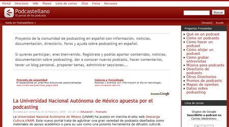 Podcastellano, un sitio de referencia que cuenta con un directorio