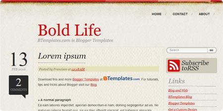 Bold Life demo