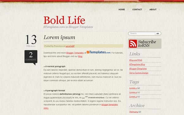 bold-life-for-blogger