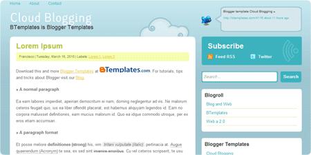 Cloud Blogging demo
