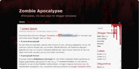 Zombie Apocalypse demo