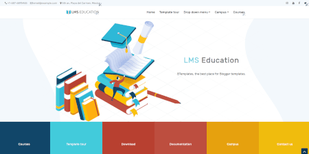 LMS Education demo